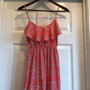 Soprano for Nordstrom BP pink patterned maxi dress